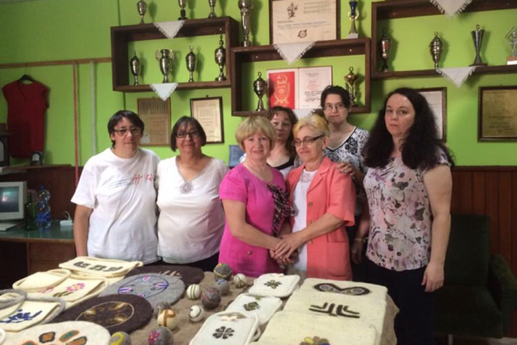 Training with the Union of the blind in Zrenjanin and Leskovac