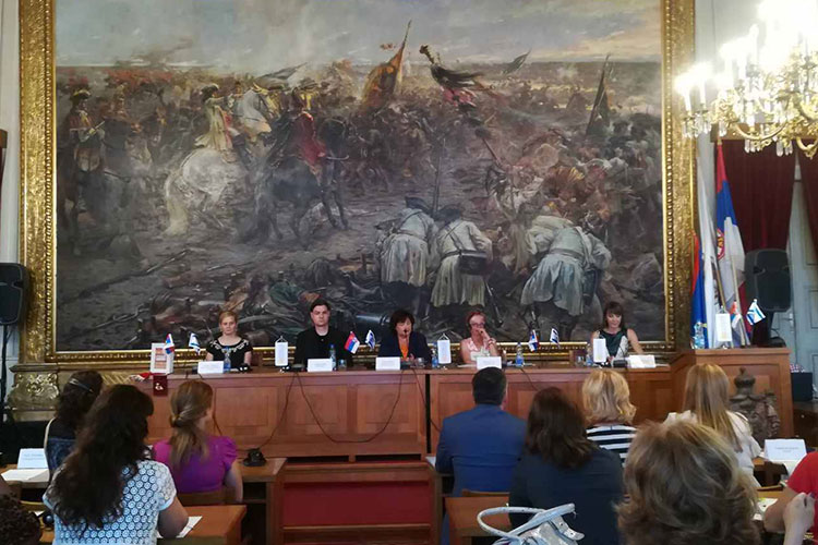 Round table on the role of women in economy and society